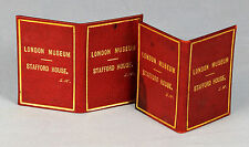 c1912 Artist John Seymour Lucas + wife Marie's LONDON MUSEUM benefactor's passes