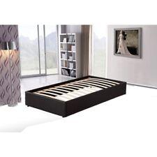 PU Leather Single Bed Ensemble Frame Bedroom Furniture