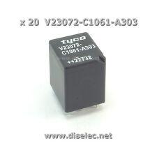 x 20 Relais V23072-C1061-A303 Relais, automobile, bmw e38, e39 V23072C1061A303