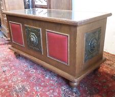 Splendide comptoir meuble de métier vitrine vintage