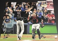 Chris Sale Red Sox 2018 World Series Signed 16x20 Photo JSA WITNESS COA B