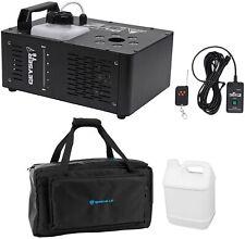 Chauvet DJ Geyser T6 Fog Machine Fogger, LED RGB+Remote+Waterproof Carry Bag