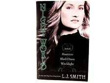 VG+ Night World No. 3: Huntress, Black Dawn, Witchlight by L.J. Smith. Paperback