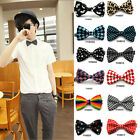 Men's Wedding Bowtie Classic Necktie Novelty Tuxedo Bow Tie Adjustable Tie Party