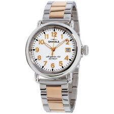 В runwell Shinola белый циферблат из нержавеющей стали женские часы S0120089898
