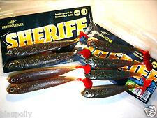 lieblingsköder Sheriff 12,5 cm y 10 CM SEÑUELO GOMA zander-hecht-barsch Stint