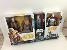 """Chewbacca Han Solo Captain Phasma Jyn Erso Rogue One 12"""" 12 inch Figure Lot MISB"""