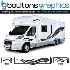 2.5M MOTORHOME STRIPES -Camper Van Horsebox RV Sticker Caravan Decal Graphic SS5