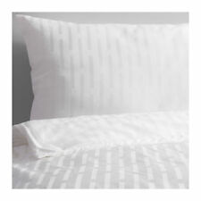 Ikea Strandgyllen King Duvet Set, 4 Pillowcases, White, 240x220 BNWT
