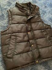 Arizona Jean Company Men's Green Lined Medium Vest Zip Front/Pockets