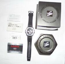 Casio G-Shock GST-S110-1A Stainless Steel SolarQuartz Watch with Resin Strap