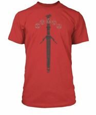 The Witcher 3 Silver Sword Premium Tee ADULT Gaming Gamers Shirt SMALL