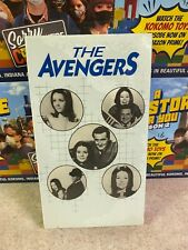 Vintage 1986 THE AVENGERS ESCAPE IN TIME TV Series Original VHS NEW Sealed