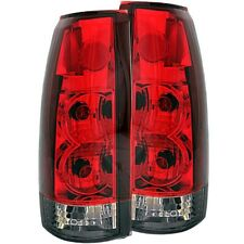Anzo Tail Lights Red/Smoke G2 Set For 88-00 Chevy / GMC / Cadillac #211157