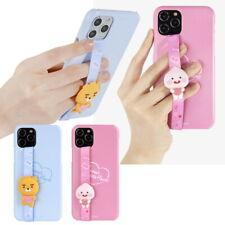 Kakao Little Friends Sweet Strap Hard Case for Samsung Galaxy S21 S20 S10 S9 S8