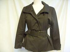 Zara Button Cotton Hip Length Coats & Jackets for Women