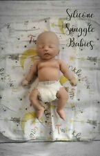 "8"" Micro Preemie Full Body Silicone Baby Girl Doll Izzy"