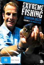 EXTREME FISHING WITH ROBSON GREEN - SEASON THREE - Rare DVD Aus Stock New