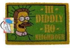 Official The Simpsons 'Hi Diddly Ho Neighbour' Ned Flanders Novelty Door Mat