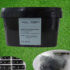 WPC/ BPC Metallclips - 250 Stück | passend für WPC & BPC Terrassendielen UNI.