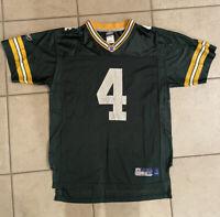 Brett Favre Green Bay Packers Reebok NFL Equip. Green Jersey Youth Size XL 18-20