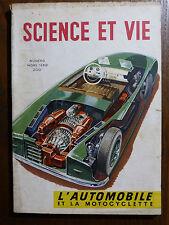 SCIENCE ET VIE Numéro Spécial Hors-Série L'AUTOMOBILE ET LA MOTOCYCLETTE 1950-51
