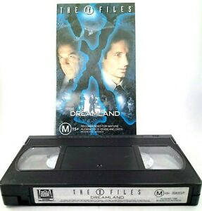The X Files Dreamland VHS Tape Rated M 15+ Approx 86 Mins