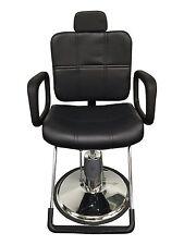Black Leather Reclining Hydraulic Barber/Styling Chair Salon Station Shampoo
