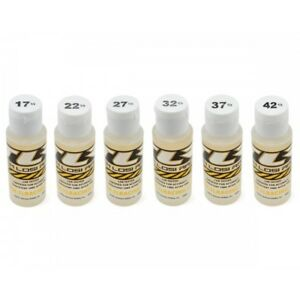 TLR 74019 Silicone Shock Oil 6 Pack (2oz) (17.5, 22.5, 27.5, 32.5, 37.5, 42.5wt)