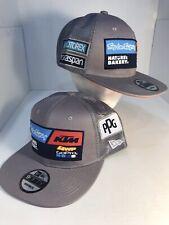 Red Bull KTM Racing MotoGP MX Flatbrim Cap Grey New Era 9Fifty Hex Era