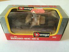 BBURAGO BURAGO MERCEDES-BENZ 300 SL COD. 4109 ANNEE 1983 ECHELLE 1/43 EN BOITE