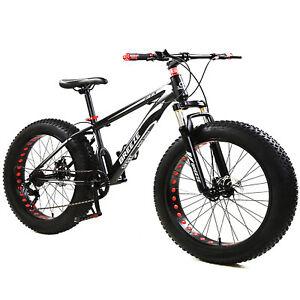 BREEZE Mountain Bike Bicycle Fat Tire Men Women 26 INCH MTB Frame Full Suspensio