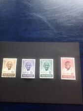 India 1948 Mahatma Gandhi Ghandi 1st Anniv Independ SG 305-308 MNH Cat Val £425