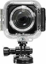 Xcel Stream Sport Edition Camera Wifi HD Wide Angle Remote Photo Recorder Black