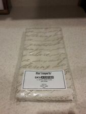 New Listing Pier 1 Imports Set Of 6 Gratitude Napkins Natural Color, New In Package, Rare!