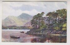Cumbria postcard - Friars Crag, Derwentwater - ARQ No. 1498
