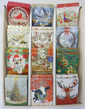 """PUNCH STUDIO Note Pads CHRISTMAS Small Magnetic Pocket  4"""" x 3"""""""