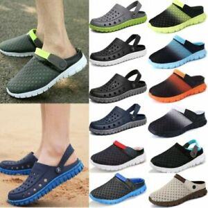 Men's Clogs Slip On Shoes Water Sandals Slipper Beach Summer Walking Flip Flops