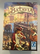 Batavia Board Game Queen Games 2008 Brand New Factory Sealed German w/English