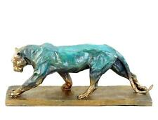 Walking Panther - signed Rembrandt Bugatti - Limited Bronze Sculpture