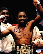 "MARK ""Too Sharp"" JOHNSON Auto Autograph Signed Boxing Photo Picture 8x10 PSA/DNA"