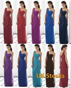 UK Stocks Formal Party Bridesmaid Dress Gown Size 8 10 12 14 16 Clearance