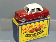 MATCHBOX MOKO LESNEY MODEL No.22a VAUXHALL CRESTA        VN MIB
