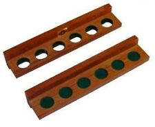 Pool Cue Rack ( For Wall ) Pool Billiards Holds 6 cues Q Holder FREE SHIPPING
