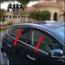 Set 4 Déflecteurs de vent pluie air teintées pour Lancia Delta depuis 2008