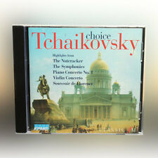 Elección Chaikovski - the cascanueces, sinfonías, piano concerto etc-música cd