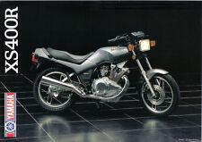 Yamaha XS400R Sales Brochure,1982 Original NOS