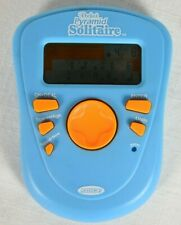 2005 RADICA POCKET PYRAMID SOLITAIRE BLUE HANDHELD ELECTRONIC GAME - NICE