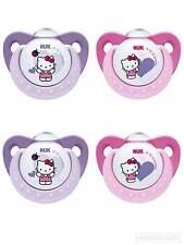 NUK Trendline Silikon-Schnuller Hello Kitty 2er Pack Gr.1 (0-6Monate) neu&ovp