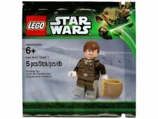 LEGO Star Wars Han Solo (Hoth) Minifigure Polybag New/Sealed 5001621 Retired Toy
